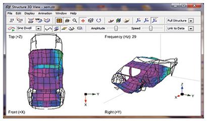 解决方案 结构性能 > 模态分析   模态测试系统解决方案 signalpad